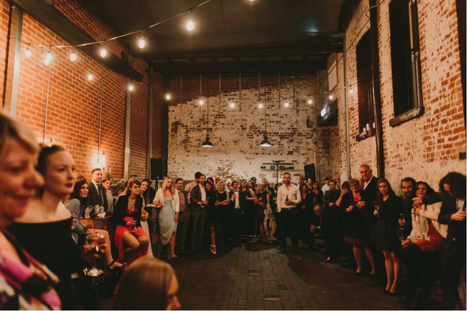 Places to have a wedding reception like Distribution Lane